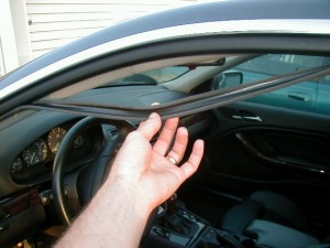 Power Windows Stopped Working And Rubber Seal In Door Is